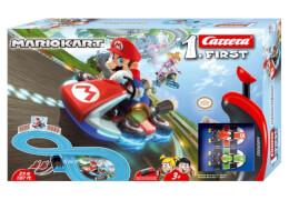 Carrera FIRST - Nintendo Mario Kart, 1:50, ca. 93x45 cm, 1-2 Spieler