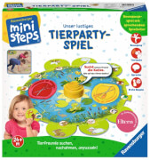 Ravensburger 04547 ministeps® Unser ustiges Tierparty-Spiel