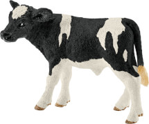 Schleich Farm World Bauernhoftiere - 13798 Kalb Schwarzbunt, ab 3 Jahre
