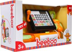 Beeboo Kitchen Registrierkasse Touchscreen mit Sound und Zubehör, Kaufläden & Zubehör, ca. 34,8x14,5x19,7 cm, ab 3 Jahren