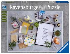 Ravensburger 19829 Puzzle: Start living your dream 1000 Teile