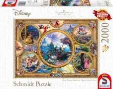 Schmidt Spiele Puzzle Thomas Kinkade Disney Dreams Collection, 2000 Teile