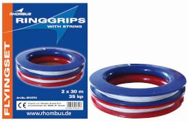 Rhombus Ringgriffe Double 35 kp, Sport & Freizeit, Maße 19x146x375 cm, ab 10 Jahren