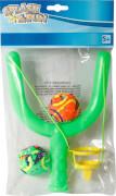 Splash & Fun Wasserbombenschleuder inklusive 2 Bälle