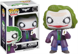 DC FunkoPop Batman Dark Knight Joker