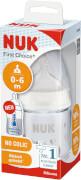 NUK FC+ PA Flasche mit Temperature Control mit Silikon Sauger, 150 ml, Größe 1 (S)